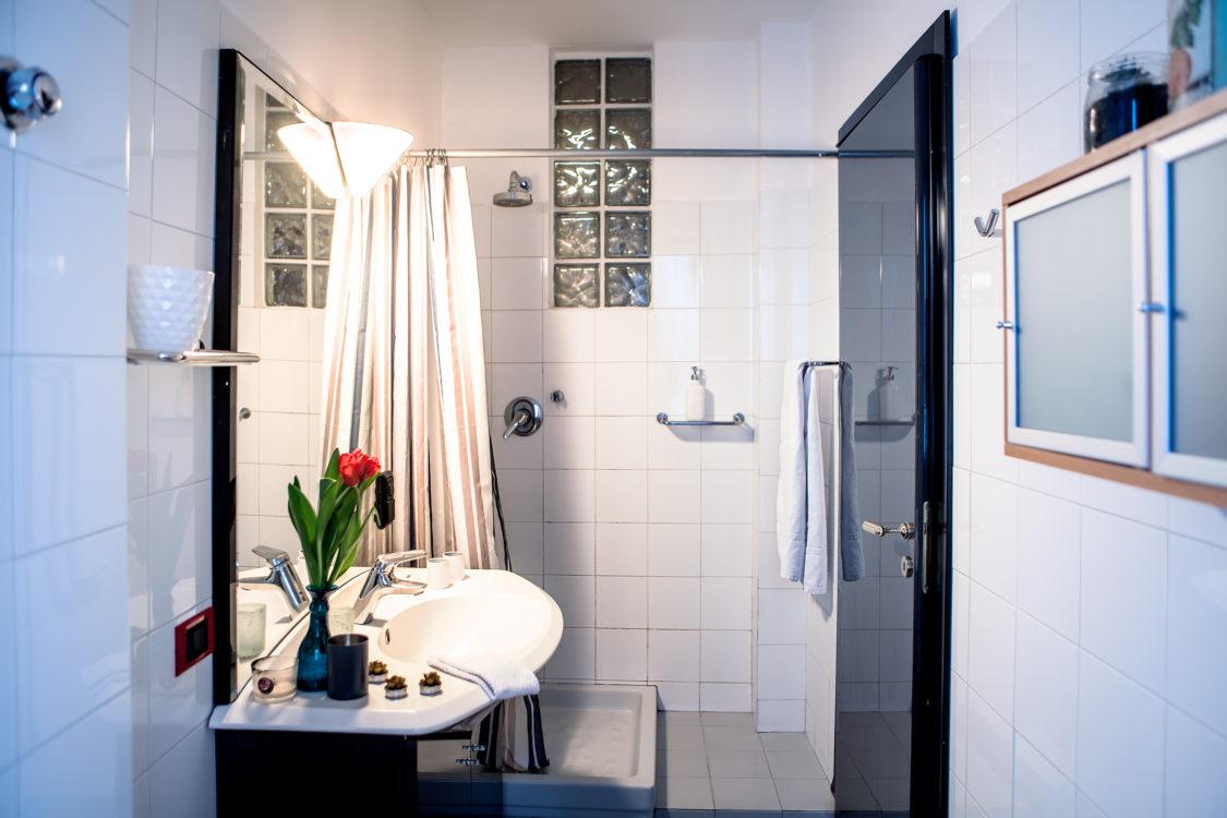 Bagno doppia p vista doccia