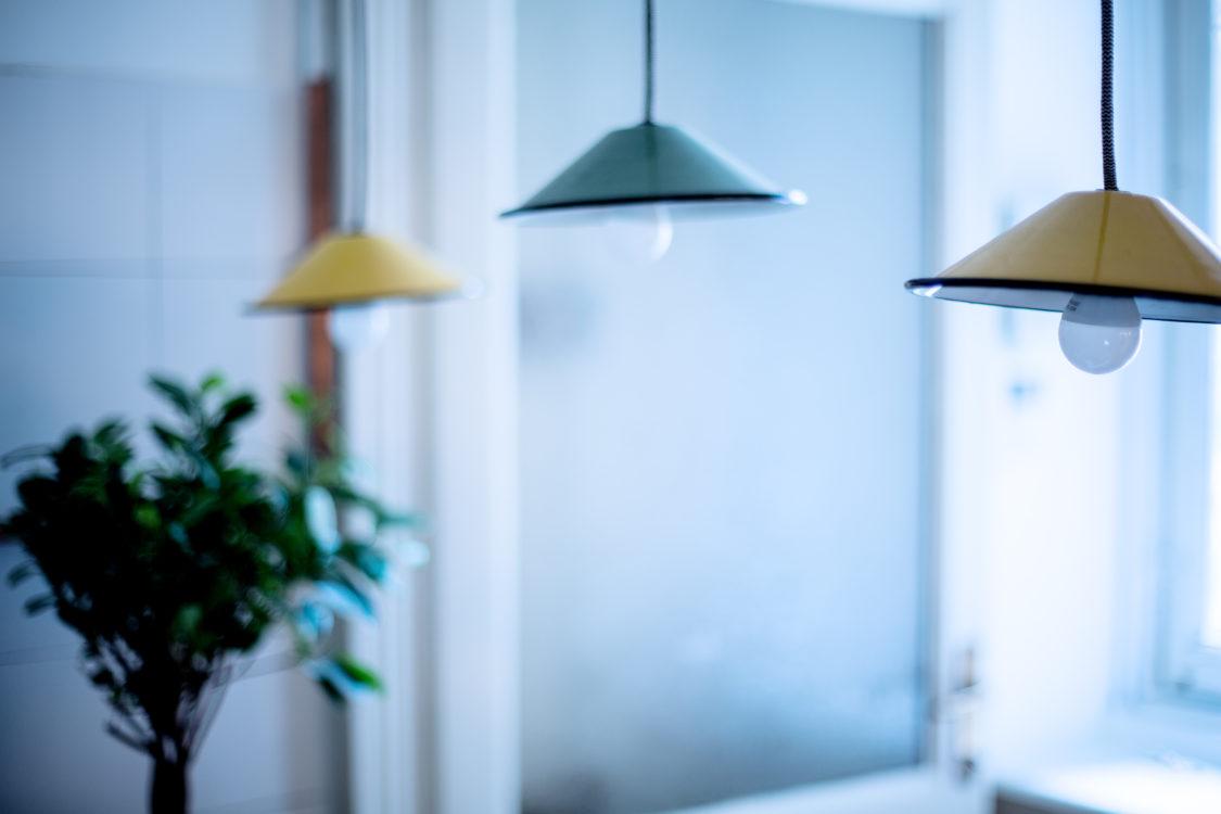 particolare lampade cucina cecca
