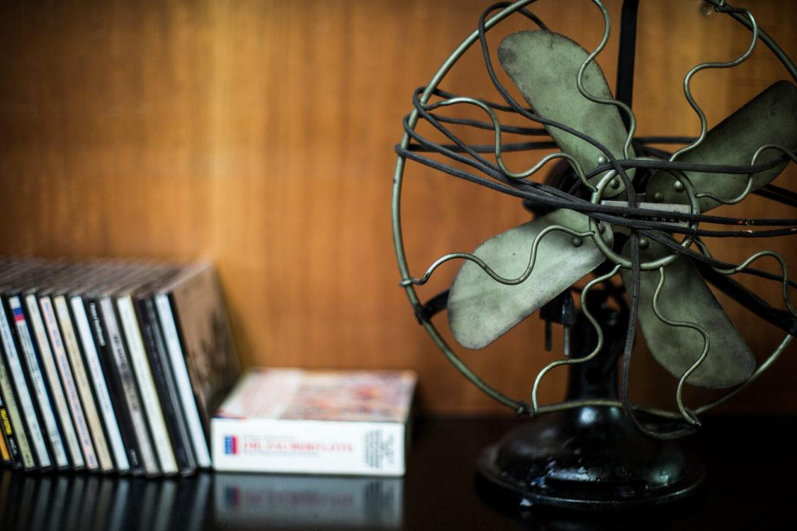Ventilatore, singola dettaglio salone